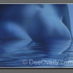 Blue Lady Mountain by Dee Overly