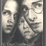 Harry Potter Trio by Dee Overly