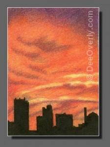 Silhouette Sky #80 Toledo