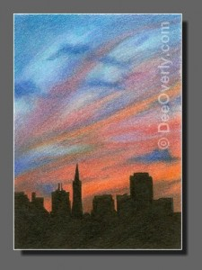Silhouette Sky #83 San Francisco
